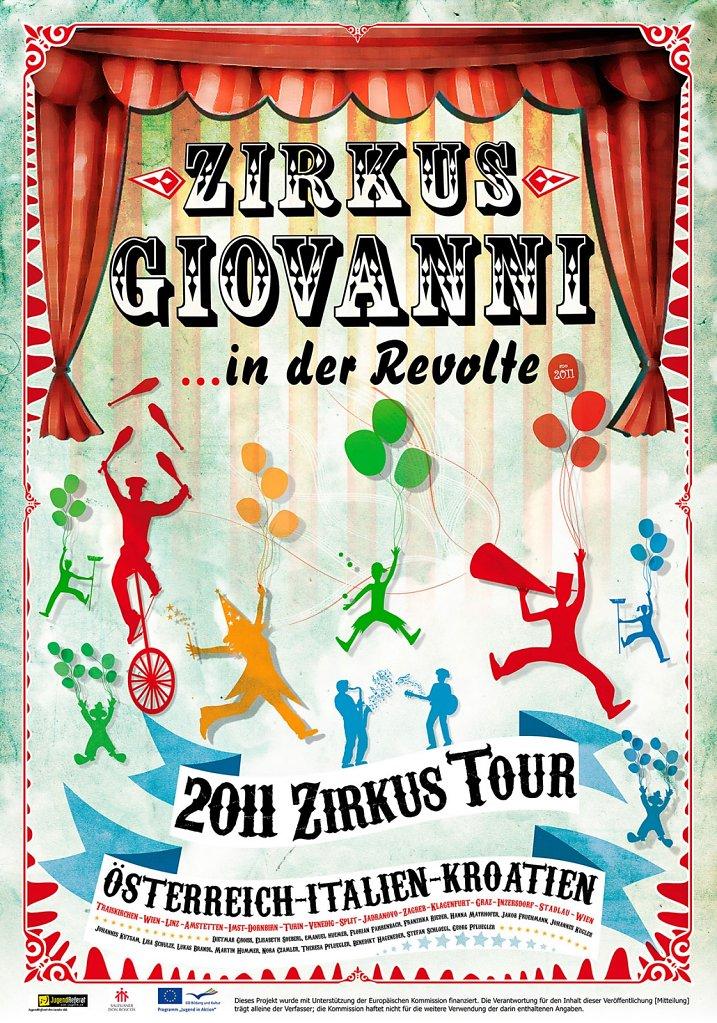 Poster / Plakate Zirkus Giovanni